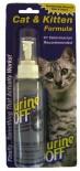 UO01389 Urine OFF Спрей для уничтожения пятен и запахов от кошек и котят 118 ml