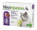 Милпразон (KRKA) таблетки для кошек весом более 2 кг от гельминтов, Антигельминтное средство, 2 шт.* 16мг/уп. (Словения)