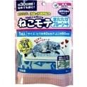 Коврик для кошек с Мататаби синий (Японская кошачья мята), 40*50 см (Япония)