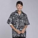 Куртка  для грумера Top Perfomers черные с рисунком (США) / под заказ